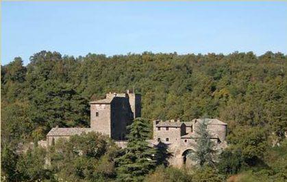 Castello delle Rocchette in der Nähe von Rom und Florenz