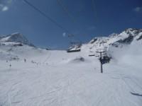 (c) TT Stubaital Tirol, Österreich - Gletscher Skigebiet