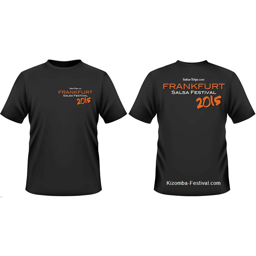 Frankfurt Festival T-Shirt 2015 black