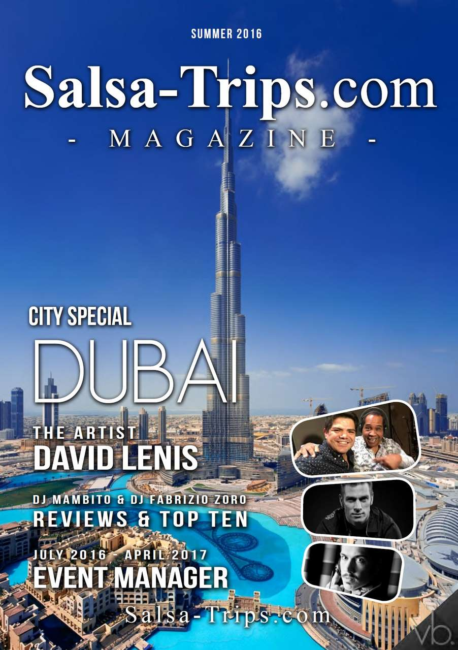 Salsa-Trips.com Magazine Summer 2016